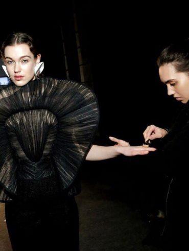 Behind the scenes - Amsterdam Fashion Week - International Make-up Artist Thailand - savourbytina