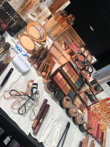 Behind the scenes - International Make-up Set up - Make-up Artist Thailand - savourbytina