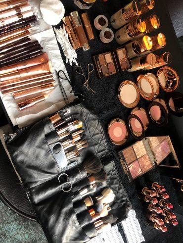 Behind the scenes - Make-up Set up - International Make-up Artist Thailand - savourbytina