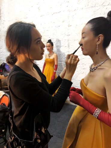 Behind the scenes - Make-up Artist Thailand - savourbytina