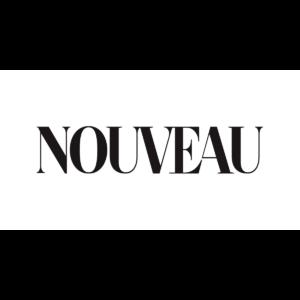 Nouveau – magazine – logo