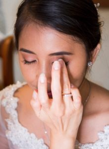 Behind the scenes - Bridal Makeup - Make-up Artist Thailand - savourbytina