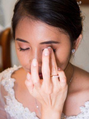 Behind the scenes - Bridal Makeup - Make-up Artist Thailand - savourbytina